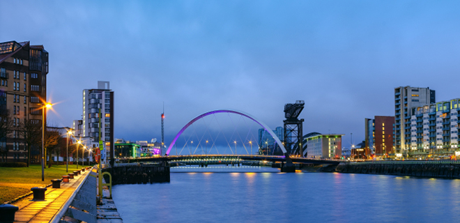 Photo of Clyde Arc in Glasgow